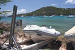 Beloved Carib and beloved boat ramp