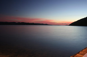 Sunset View of St. John from Jost Van Dyke BVI
