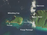 Whistling Cay Map