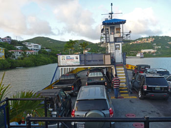 St. John St Thomas Car Ferries