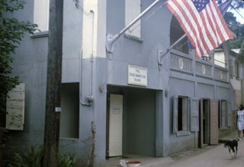 St. John USVI branch of Chase Bank 1965