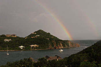 Chocolate Hole St. John Virgin Islands Rainbow