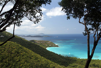 St. John Trails: Cinnamon Bay Trail Overlook