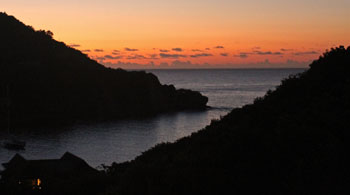 St. John Virgin islands Dawn