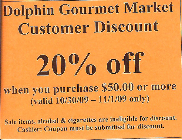Discount coupons for dolphin mall
