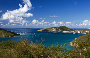 Hassel island, us virgin islands