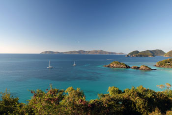 Jost Van Dyke seen from St. John