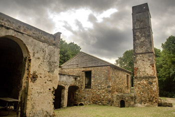 Reef Bay Sugar Mill Ruins