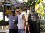 Gerald, Mario and Darth Vader, Soggy Dollar Bar, Jost Van Dyke
