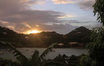 St. John Virgin islands Sunrise 12/10/11
