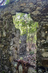 ruins at water creek, st john