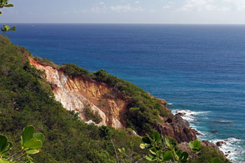 St. John Trails: White Cliffs