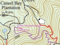Water Catchment Trail Map