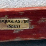 douglas fir for the spars