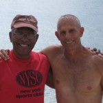 Ron and I in Virgin Gorda