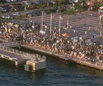 Aerial View of Mallory Square at Sunset- Photo by Gary Sibley