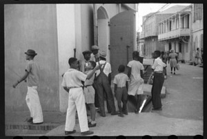 Main Street, St. Thomas, US Virgin Islands 1941