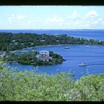 Cruz Bay Overlook 1965