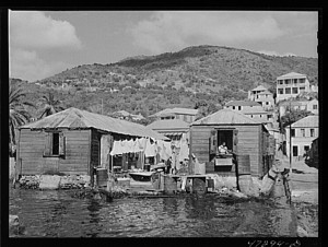 St Thomas Waterfront 1941