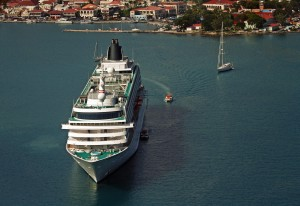 Cruise Ship in St. Thomas