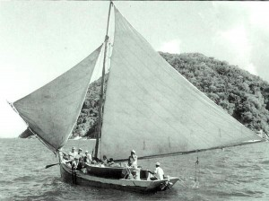 Ferry to St. John 1949