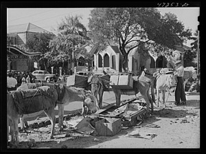 St. Thomas Market 1941