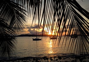 Sunset: Frank Bay, St. John US Virgin Islands (USVI)