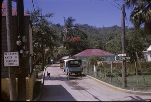Cruz Bay, St. John, US Virgin Islands (USVI) 1965
