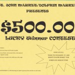 St. John and Dolphin Markets Contest