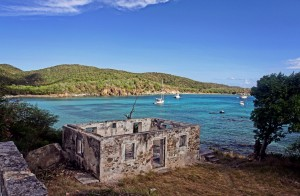 St. John USVI Beaches: Lameshur Bay Ruin