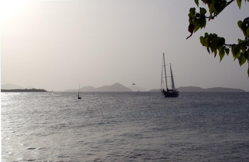 St. John Virgin Islands Weather: Sahara Dust
