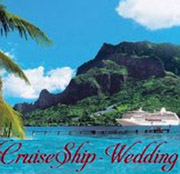 CruiseShip Wedding
