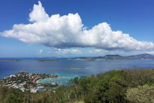Caneel Hill Overlook: Cruz Bay