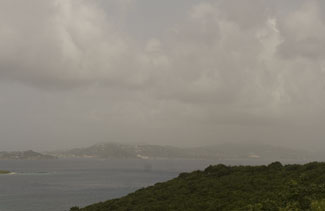View of St. Thomas from Lindholm overlook