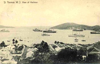 St. Thomas Harbor (photo from Ron Lockhart collection)