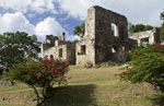 Caneel Bay estate ruins