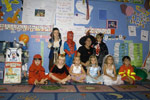 Miss Michelles Pre K Kids in Halloween Costumes