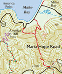 St. John US Virgin Islands Trails: Maria Hope Road