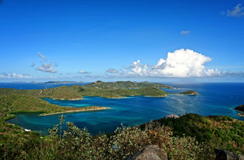 St. John USVI Trails: Base Hill