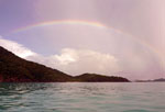 Trunk Bay Rainbow