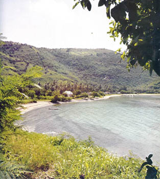 Great Harbour from the book Virgin Islands published 1970