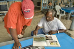 Ivan and Steve check out the 1970 Virgin Islands book