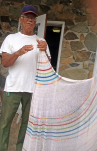 St. John Crafts: Mario Benjamin and Fry Net