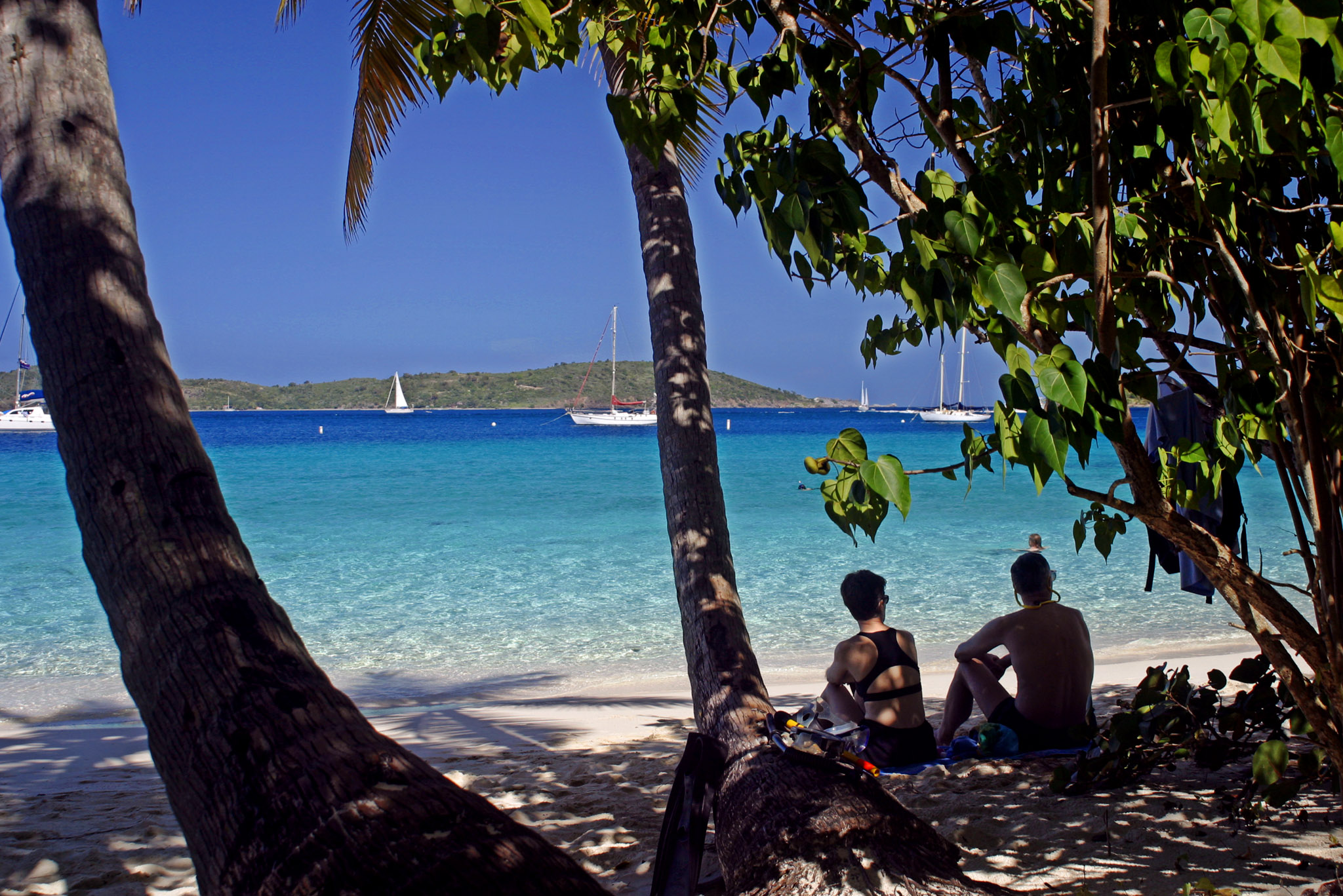 St. John USVI Beaches: Honeymoon