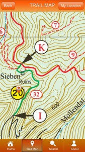 St John Off The Beaten Track App Seiban Map