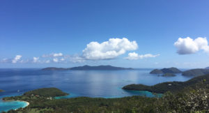 View of Jost Van Dyke from the Caneel Hill Trail