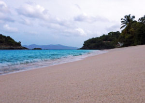 Trunk Bay Beach Sand
