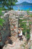 Brown Bay ruins