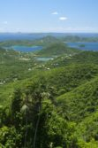 Coral Bay overlook St. John USVI