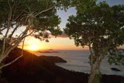 Cinnamon Bay Trail sunset